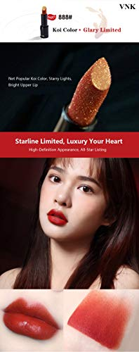 Ideal Life VNK Big Brand Style Glary Starline Limited Matte Charismatic Charming Allure Mystic Daily Matchable Rouge IL-C011 (888#) from Ideal Life Cosmetic