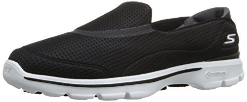Top Bkw 3 Low Women's Black Unfold Gowalk Sneakers Skechers pOwBq7gp