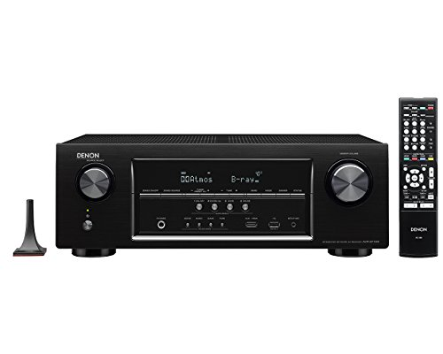 Denon AVR-S710W 7.2 Channel Full 4K Ultra HD AV Receiver with Bluetooth and WIFI