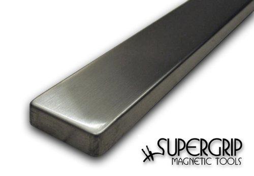 SuperGrip Edelstahl-Magnetleiste 40 cm, starke Neodymmagnete!