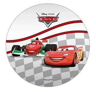 Disney Pixar Cars decoración para tarta para 21 cm oblea ...