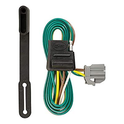 CURT 56210 Vehicle-Side Custom 4-Pin Trailer Wiring Harness for Select Chevrolet Equinox, GMC Terrain: Automotive