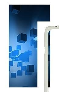 Samsung Galaxy S5 The Blue 3D Space Box PC Custom Samsung Galaxy S5 Case Cover White by icecream design