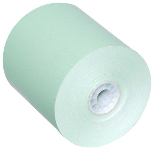 PM Company Thermal POS Rolls, 3 1/8 Inch x 230 feet, Green, 50 Rolls per Carton (05214G) by PM Company