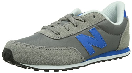 New Balance KL410 M Unisex-Kinder Sneakers Grau (Gris (Yby Grey/Blue))