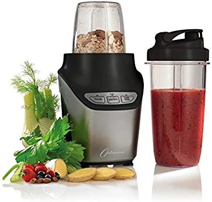 1000 W Optimum Nutri Force Extractor High Speed Travel Sized Compact Blender