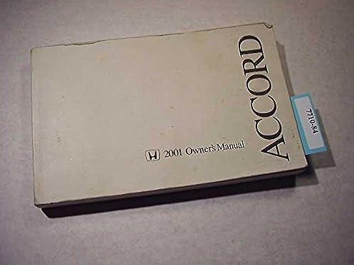 2001 honda accord sedan owners manual honda amazon com books rh amazon com 2001 honda accord owners manual online honda accord lx 2001 owners manual