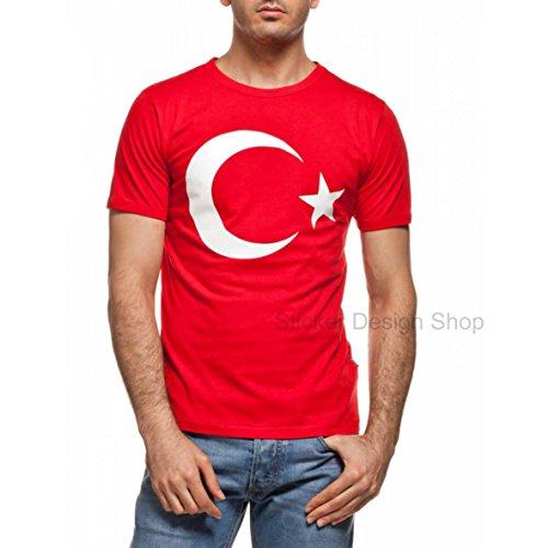 Ayyildiz T-Shirt Druck Unisex Baumwolle Fruit of The Loom Istanbul Türkiye