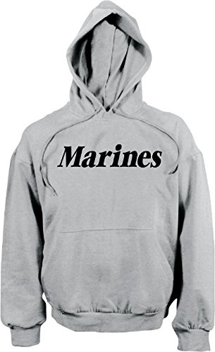 Grey Physical Training Zipper Sweatshirt - Grey Marines Military Pullover Physical Training Hooded Sweatshirt