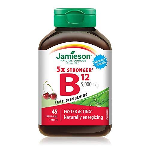 Jamieson Vitamin B12 5,000 mcg, 45 tabs