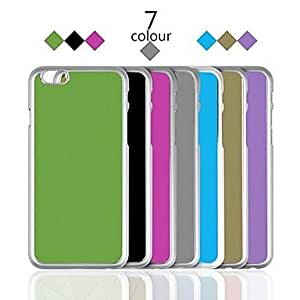 PEACH Brush Metal Back Cover for iPhone 6 Case 4.7 inch , Golden