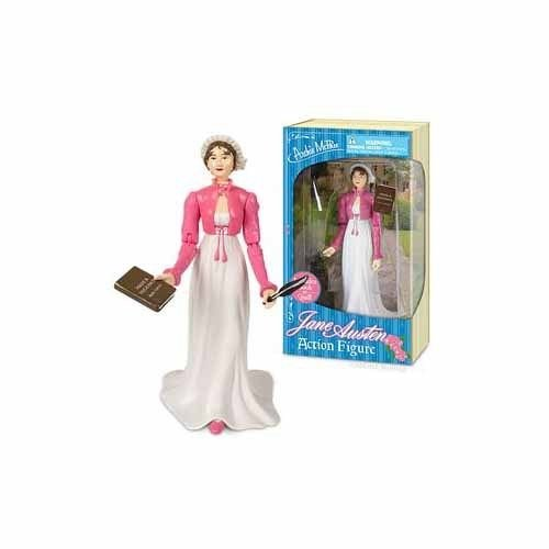 Jane Austen Action Figure by Accoutrements - 12443 .supply.from:thejunglestore5