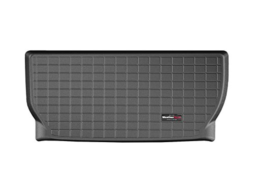 Third Row Seating (2008-2015 Buick Enclave [behind the 3rd row seating] - WeatherTech Custom CARGO TRUNK Liners - Black)