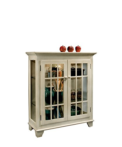 Console Curio Color - Philip Reinisch Co. Color Time Barlow Display Console, Sandshell White Cabinet, Sandshell White Finish