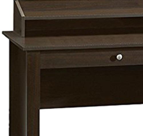 042666102056 - Sauder Shoal Creek Desk, Jamocha Wood carousel main 1