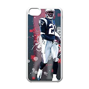 NFL New England Patriots For iPhone 5C Phone Cases WRQ814042