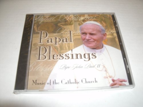 Cover of Papal Blessings Music of the Catholic Church