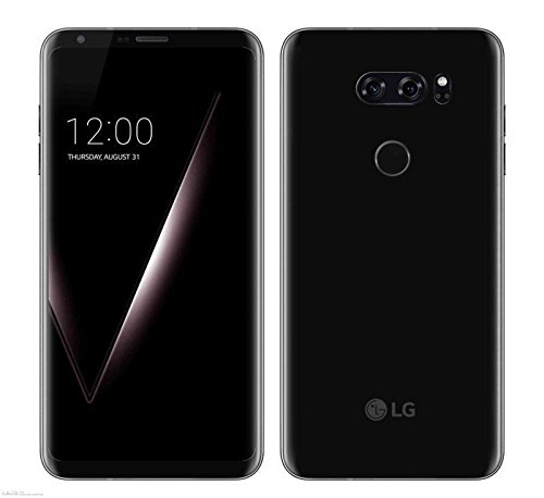 LG V30+ H930DS 128GB/4GB Dual Sim Factory Unlocked GSM Smartphone - International Version - No Warranty in the US (Black)