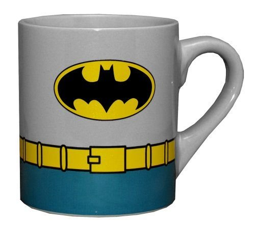 Batman Costume Uniform Superhero 14 oz Ceramic Coffee Mug