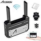 Accsoon CineEye 1080p WiFi HDMI Transmitter 5G Wireless Image Transmission to 4 Devices in a Distance of 328 Feet,Support Android & iOS,RGB,False Color,3D LUT Loading,with Mount Monitor Holder&Cloth