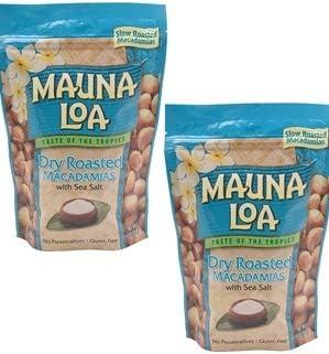 【訳あり】 MAUNALOA(マウナロア) マカデミアナッツ  塩味Lサイズ 283g×2袋【賞味期限間近のため・2020年7月31日】