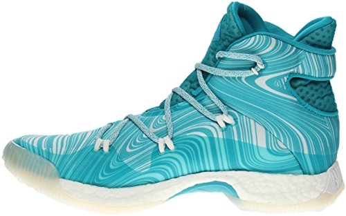 Adidas Sm Gek Explosieve Nba Blauw; Wit