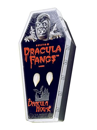 FANGS CARDED VAMPIRE COFFIN -