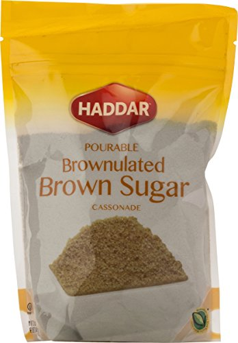 Haddar Brownulated Brown Sugar, in Convenient Resealable Bag, 12oz (3 Pack)