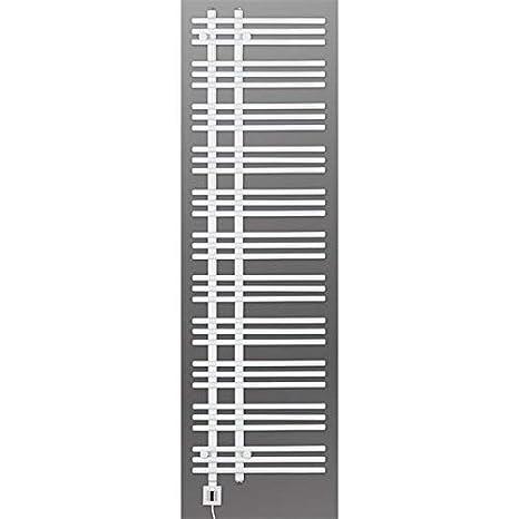 Eléctrico Radiador Toallero, Radiador Toallero, Blanco Recto, Incl. Patrón Calor, Fix y Listo Entrega - blanco, 1780h x 600b: Amazon.es: Bricolaje y ...