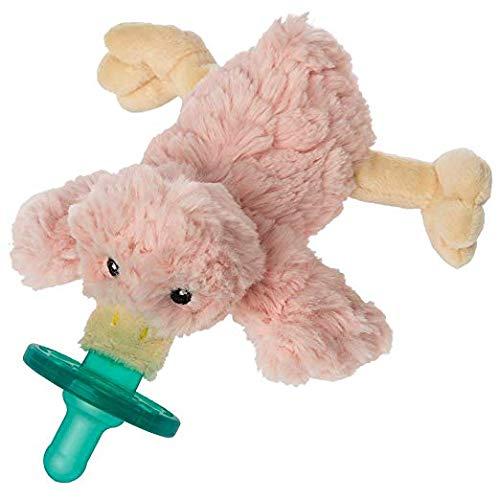 Era Blush Putty Duck Baby Pacifier ()