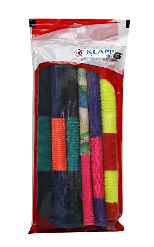 Klapp Cricket Bat Grip, Pack of 6