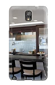 Durable Protector Case Cover With Modern Kitchen With Long Banquette Seating Hot Design For Galaxy Note 3