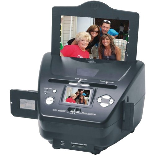 Buy Discount New! 22MP PS9790 Digital Photo/Negative Films/Slides Scanner with Built-in 2.4 LCD Scre...