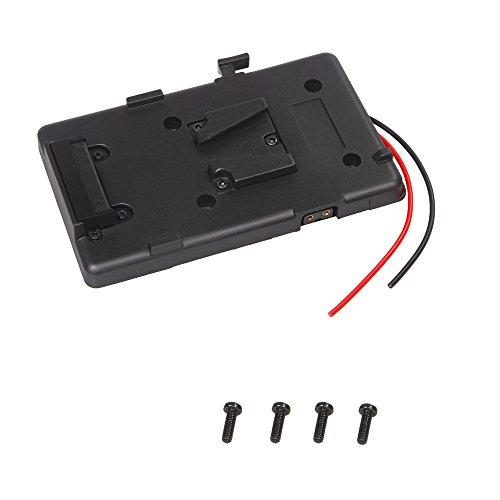 Andoer Battery Back Pack Plate Adapter for Sony V-shoe V-Mount V-Lock Battery External for DSLR Camcorder Video Light - Digital Back Adapter