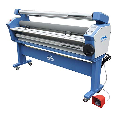Qomolangma Wide Format Laminator Machine 63in Full-auto Cold Laminator with Heat Assisted- US Stock