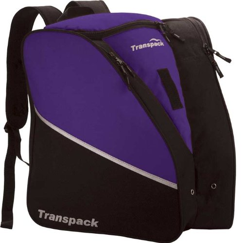 Transpack Edge Ski and Snowboard Boot Bag - Purple (Outlet Boots Snowboard)