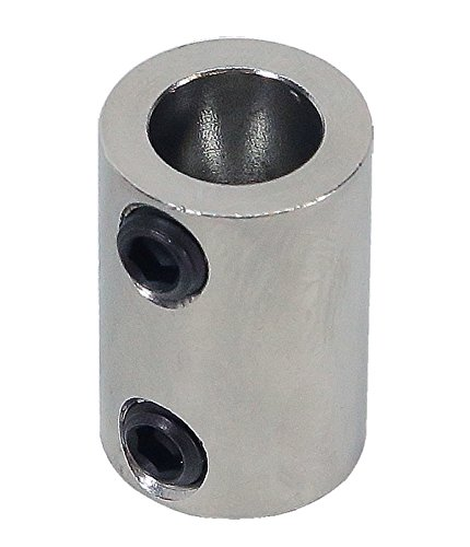3/16 inch to 5/16 inch Stainless Steel Set Screw Shaft Coupler