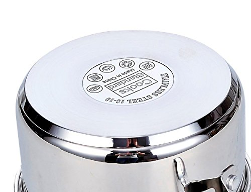 Cooks Standard 6-Quart Stainless Steel Stockpot with Lid by Cooks Standard (Image #3)