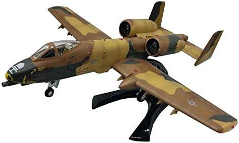 1/72スケール攻撃モデル、米軍のA-10攻撃機モデル、成人向けグッズとギフト、9.5インチ