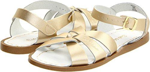 - Salt Water Sandals by Hoy Shoe Original Sandal (Toddler/Little Kid/Big Kid/Women's), Gold, 4 M US Big Kid