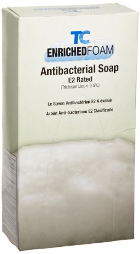 Rubbermaid Commercial Enriched Foam Antibacterial Soap E-2, 800-ml, FG450031 by Rubbermaid Commercial Products