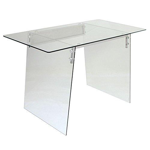 Glacier Glass Desk - 47.25
