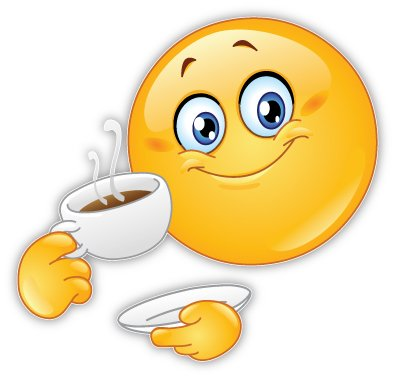 Amazoncom Good Morning Smile Smiley Face Coffee Car Bumper