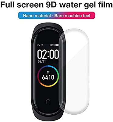 Pel/ícula Protectora A Prueba De Rotura De Superficie De Pantalla HD para MI Band 4 starter Protector De Pantalla Compatible con Xiaomi Mi Band 4 Pulsera Inteligente Pulsera