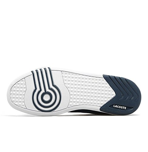 0dd1bc2c188 Lacoste Deviation II DMC SPM Canvas Navy Blue/White Mens (UK 8 USA 9 EUR  42): Amazon.co.uk: Shoes & Bags