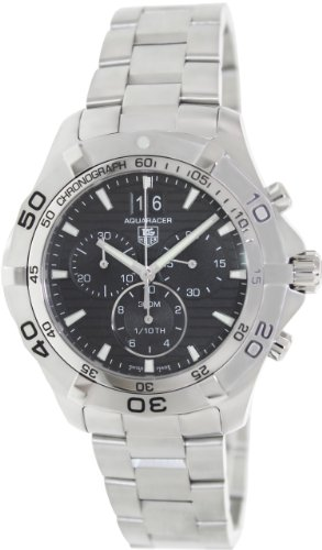 Tag Heuer Aquaracer Grande Date Black Dial Men's Watch CAF101E.BA0821