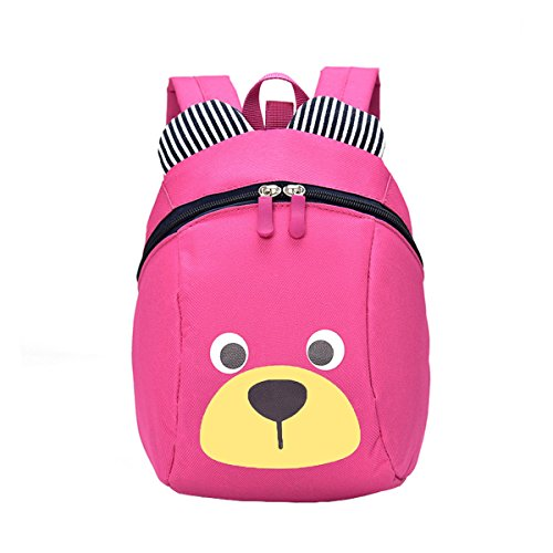 Price comparison product image FANJIE - Children's backpack,  cute little bear schoolbags,  practical gifts for children. (Pink)