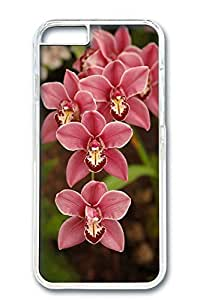 iPhone 6 Case, Custom Design Covers for iPhone 6 PC Transparent Case - Flower04