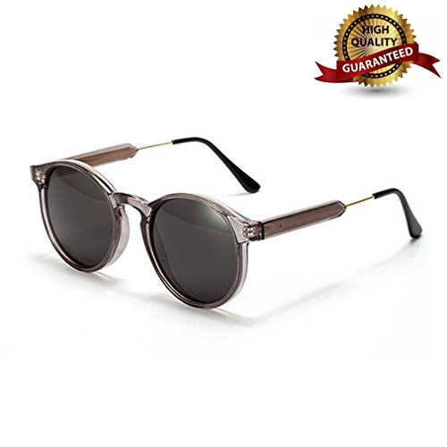 G&T 2016 New Mens Fashion Classic Uv Protection Retro Round - Gradientlens