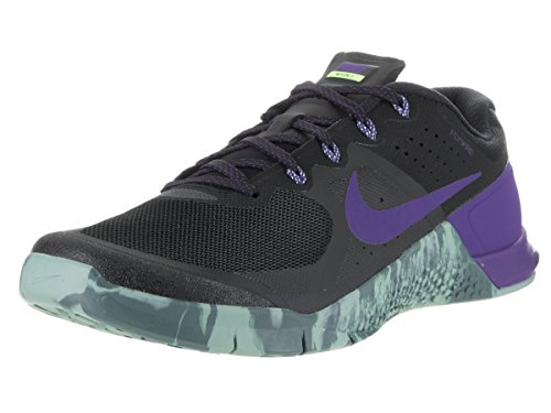 Nike Men's Metcon 2 Training Shoe BLACK/FIERCE PURPLE-HASTA-CANNON 10.5 by NIKE